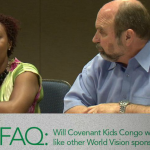 Covenant Kids Congo, powered by World Vision FAQ 15