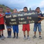 Covenant Kids Colombia Casa de Paz- say thank you
