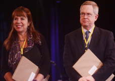 Recognition of Outgoing Executive Board Members (2013)